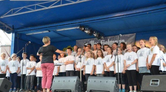 Auftritt der Eulenspatzen beim Volksdorfer Stadtteilfest