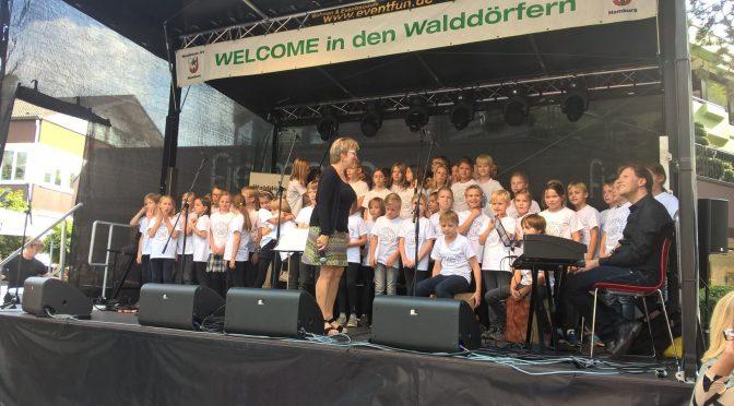 Eulenspatzen 4 eröffnen das Volksdorfer Stadtteilfest